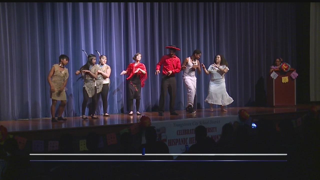 Youngstown City Schools celebrated National Hispanic Heritage Month this week.