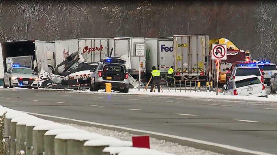 I-80 crash in Austintown, Ohio