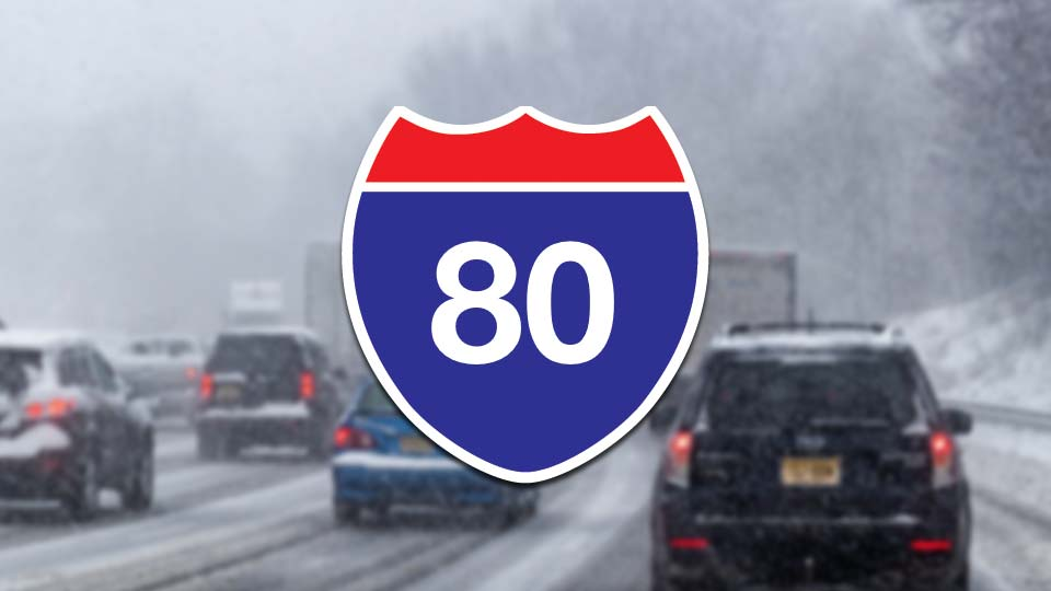 Interstate 80 Winter Driving