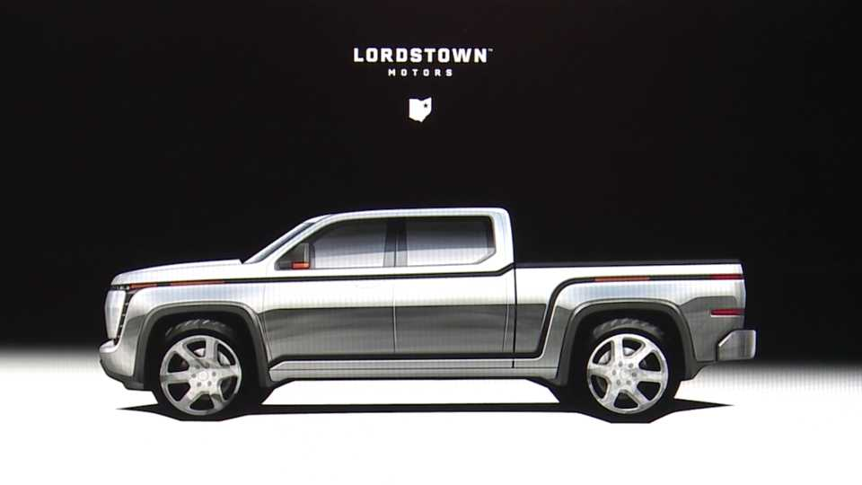 Lordstown Motors pickup truck