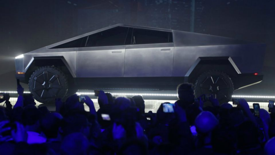 Tesla unveiled new pickup truck