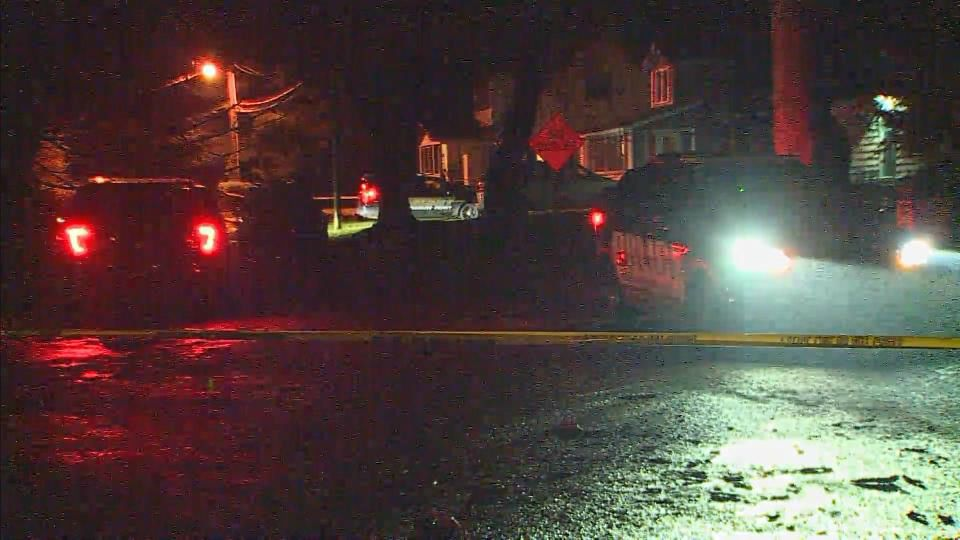 Three officers were shot during a home invasion in Comstock, Michigan.