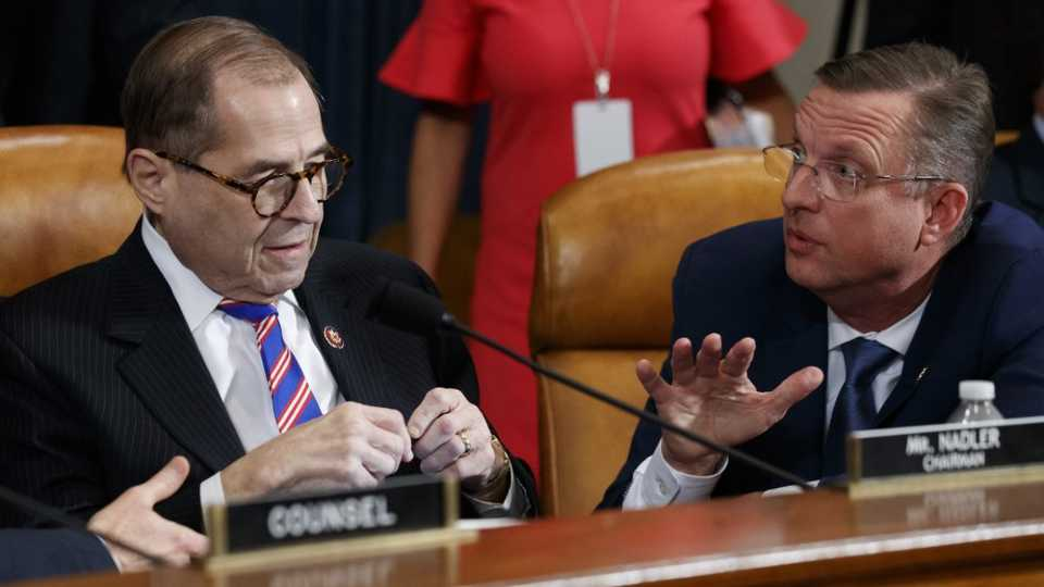 House Judiciary Committee Chairman Rep. Jerrold Nadler and Rep. Doug Collins