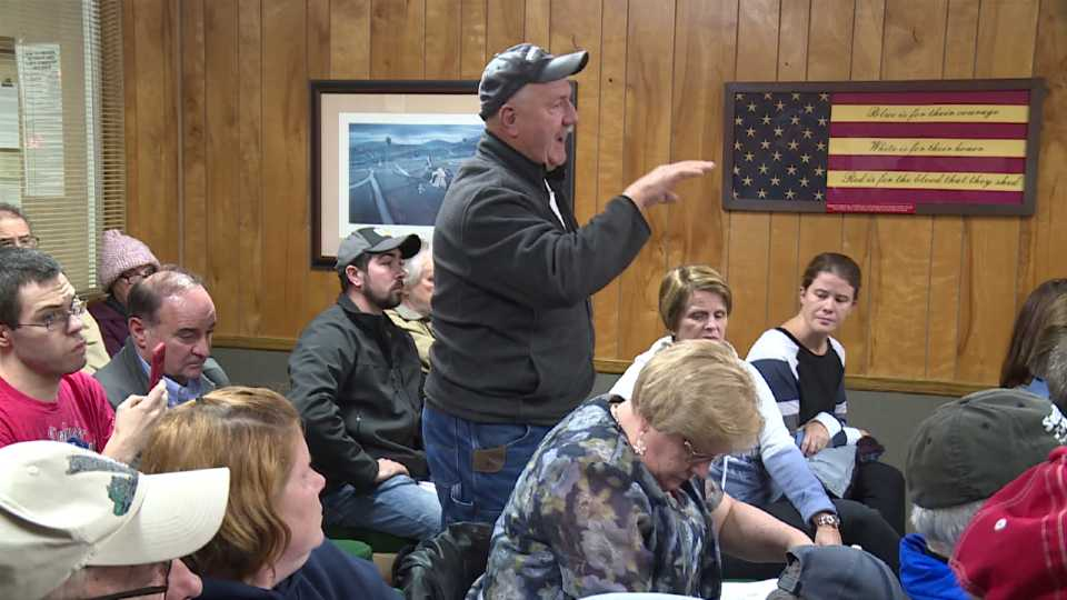 Hubbard Township meeting over police dept