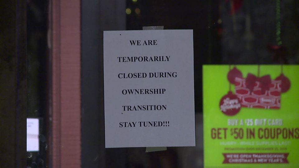 The Austintown Denny's is closed while ownership of the business changes.