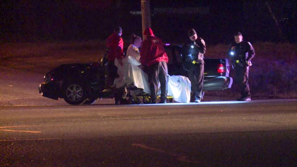 Hubbard car crash at crossover at Routes 62 and 7