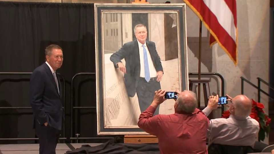 John Kasich official Ohio Statehouse portrait