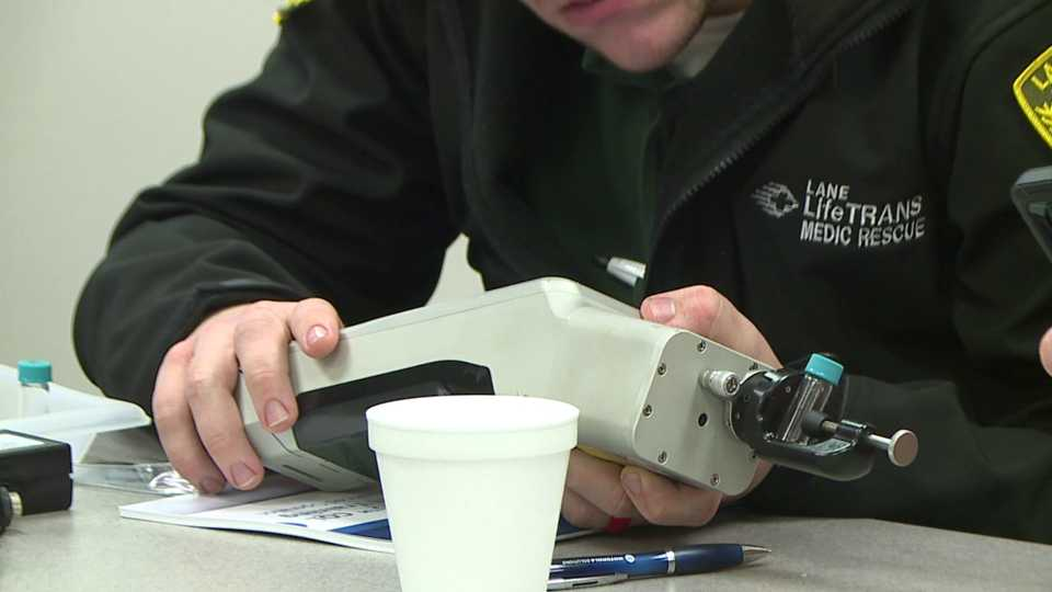 Mahoning County HAZMAT team new device