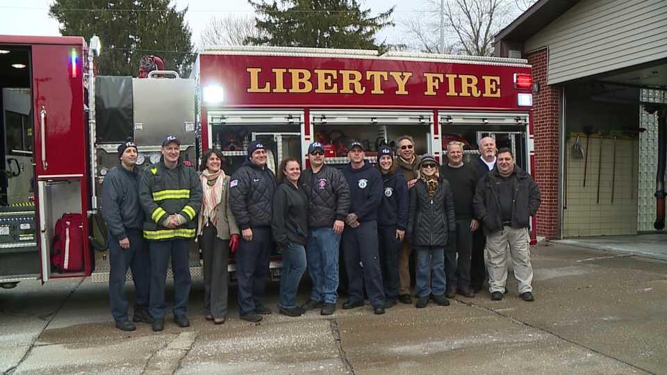 new Liberty Twp. fire truck