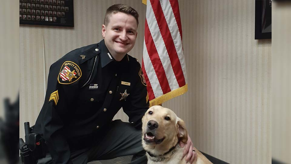 Police Officer and Dog
