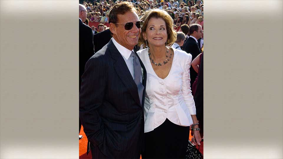 "FILE - This Sept. 18, 2005 file photo shows Ron Leibman, left, with his wife Jessica Walter at the 57th Annual Primetime Emmy Awards in Los Angeles. Leibman, who appeared in movies, theater and television in a career that spanned six decades and won a Tony for Tony Kushner's iconic play ""Angels in America,"" has died after an illness at age 82. Leibman's agent, Robert Attermann, said the actor died Friday, Dec. 6, 2019."