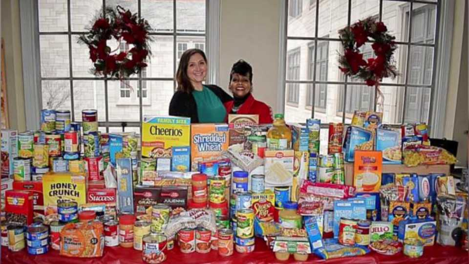 Saving Our Seniors Second Harvest Food Bank donation drive