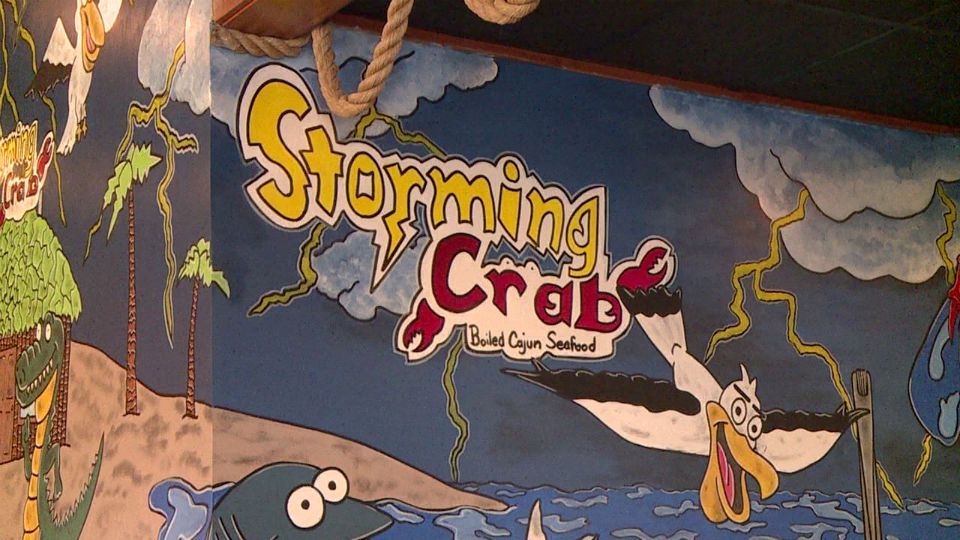 Storming Crab opened in Boardman.