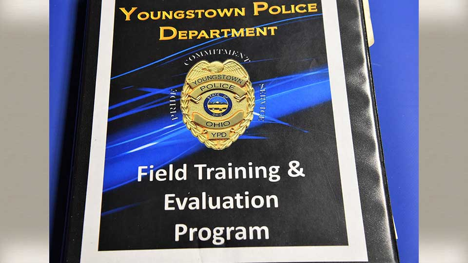The Youngstown Police Department's training manual