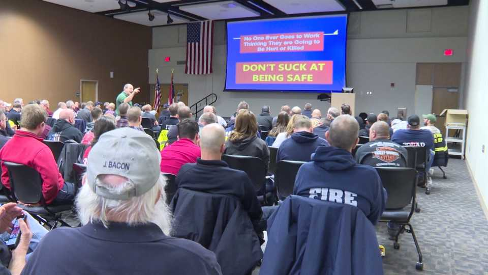 Annual Fire Chiefs Seminar at MCCTC in Canfield