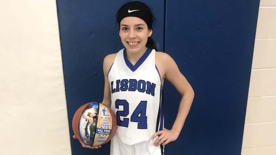 Izzy Perez, Lisbon basketball