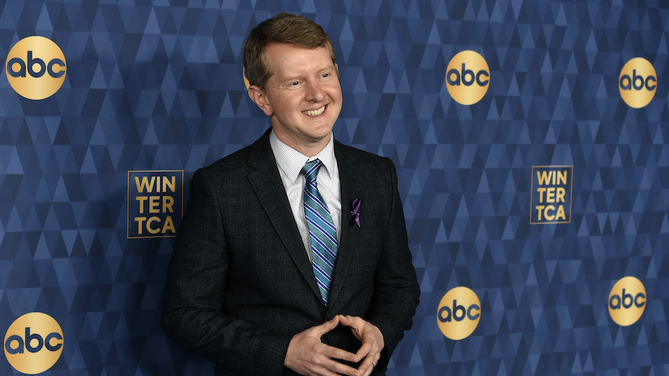 """Ken Jennings, a cast member in the ABC television series """"Jeopardy!"""