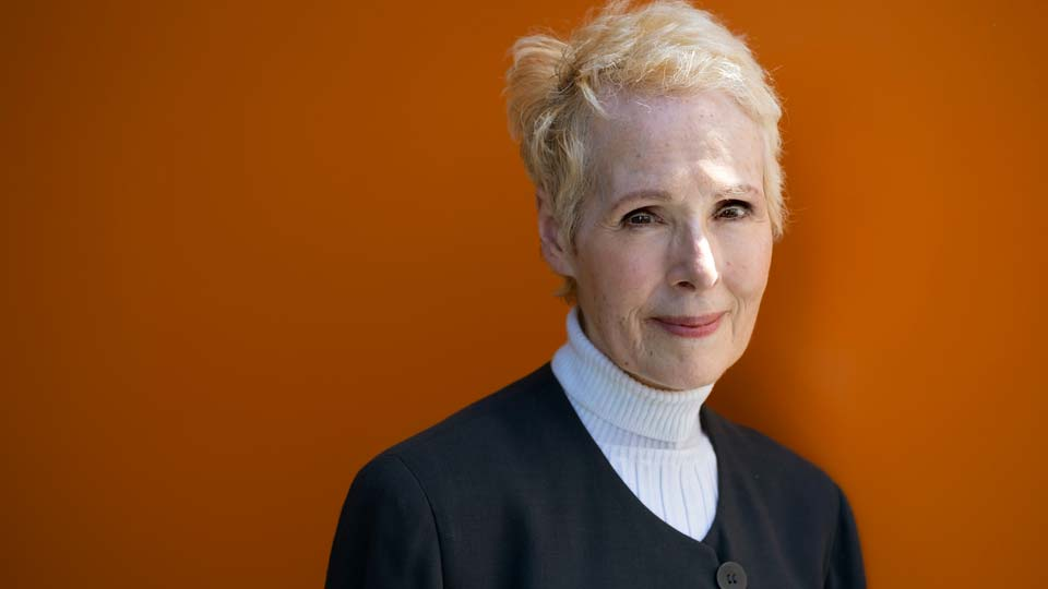 E. Jean Carroll poses for a photo in New York