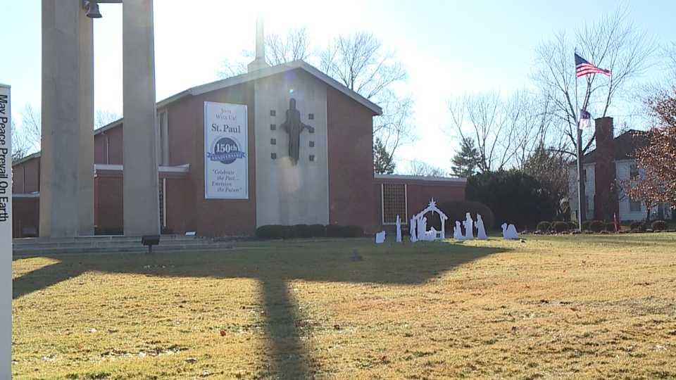St. Paul Lutheran Church blanket drive.