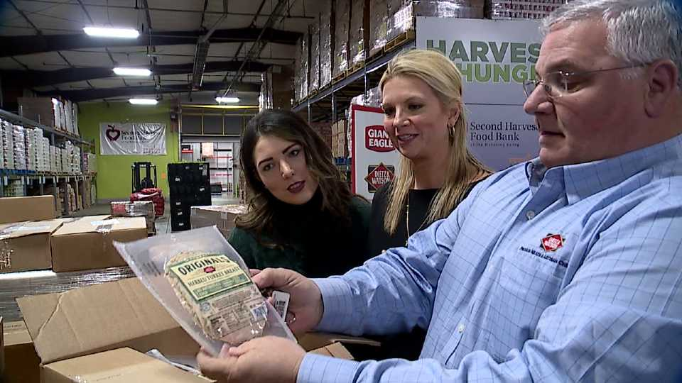 Dietz & Watson, Giant Eagle and Second Harvest food program