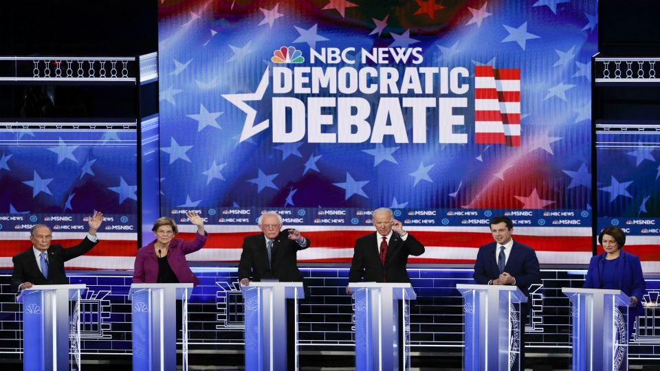 Six Democratic presidential hopefuls met on the debate stage in Las Vegas, but it was the newcomer who received the most attention.