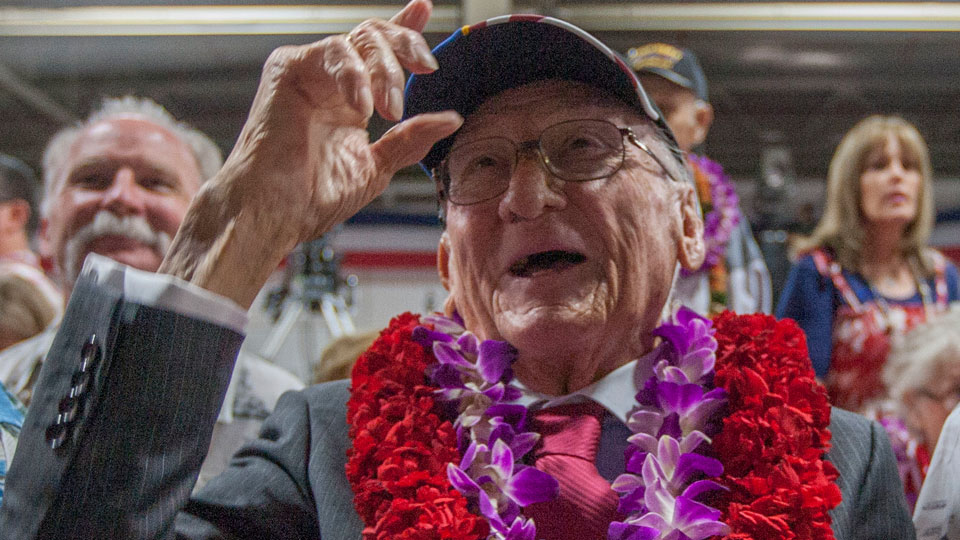 Donald Stratton, Pearl Harbor survivor dies at 97.