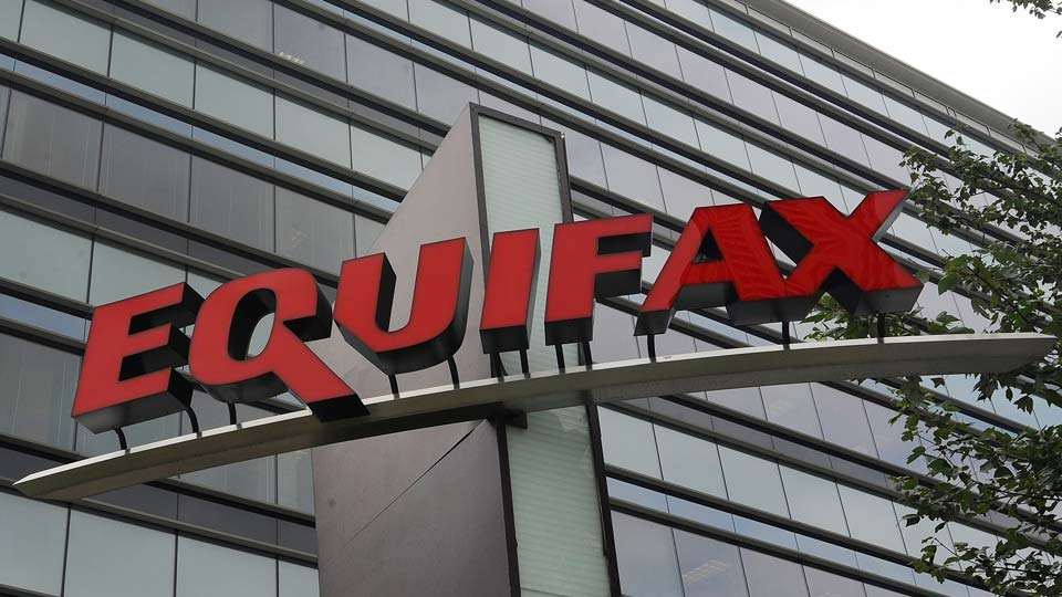 Signage at the corporate headquarters of Equifax Inc. in Atlanta