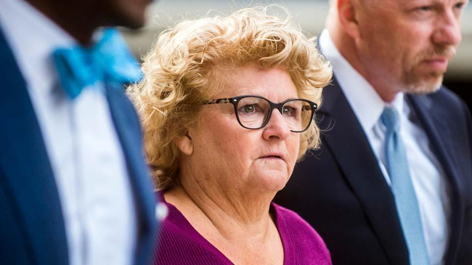 Former Michigan State gymnastics coach Kathie Klages