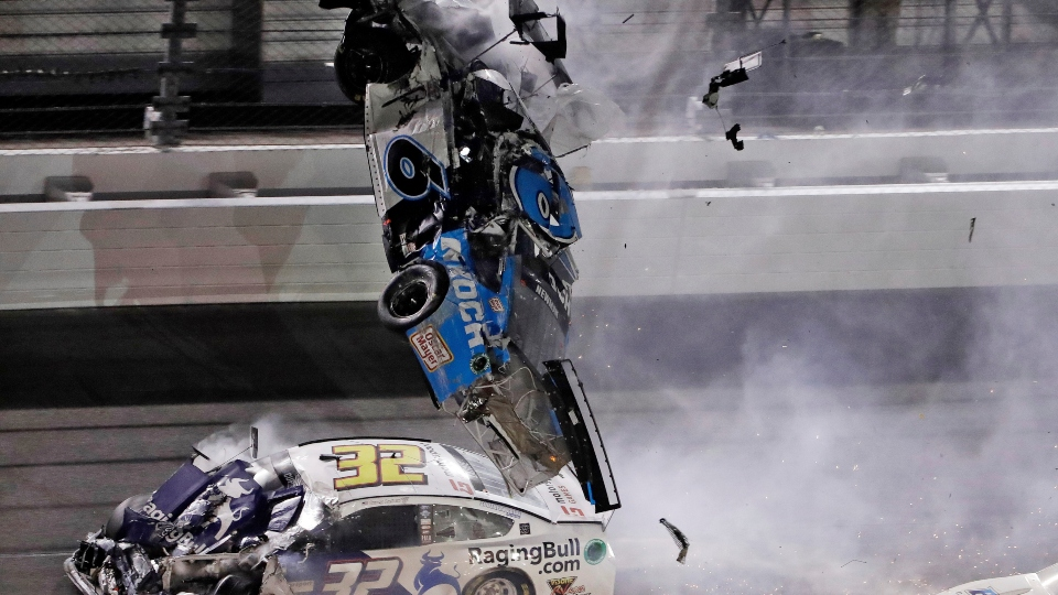 Ryan Newman, Daytona 500 crash