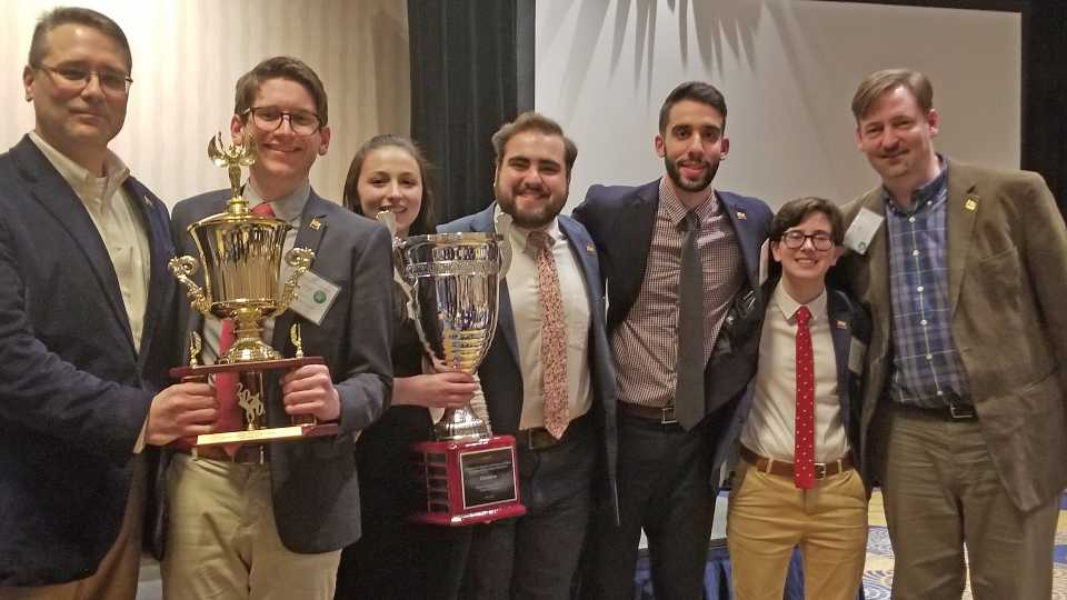 YSU team wins Ethics Bowl national championship