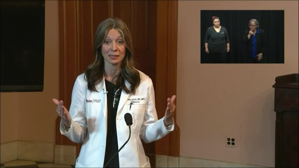Ohio Department of Health director Dr. Amy Acton, coronavirus