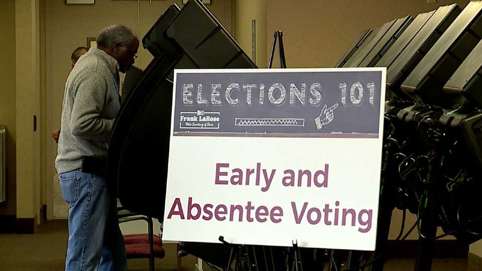 Early voting in Ohio