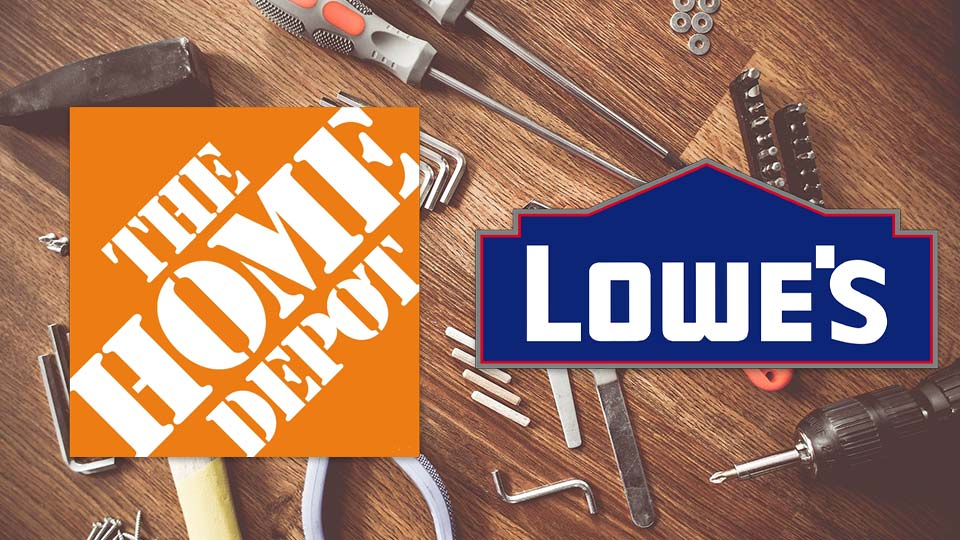 Home Depot and Lowes