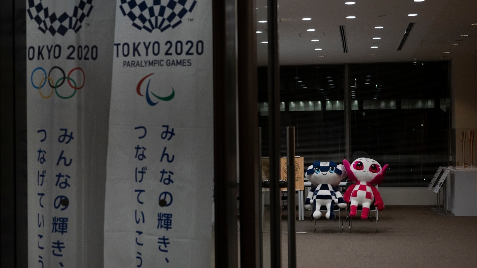 Virus Outbreak Olympics Tokyo 2020.