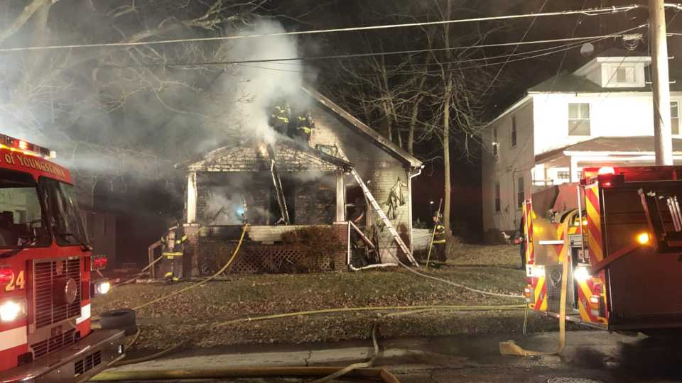 Youngstown Hudson Ave. fire was believed to be vacant.