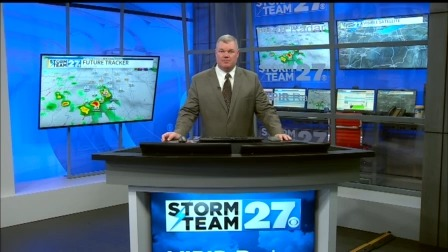 Some storms may be strong Tuesday and Tuesday night