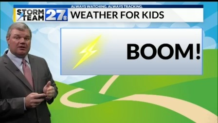 Weather For Kids - How far away is the lightning you see?