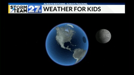 Find out how big the Moon is and when the next Full moon will be