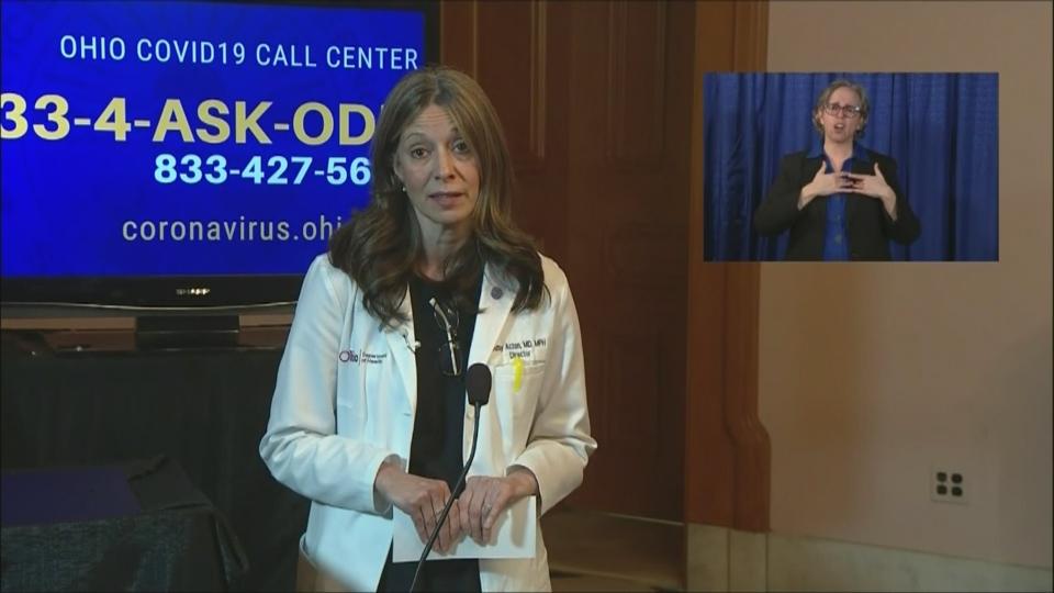 Dr. Amy Acton, Ohio coronavirus
