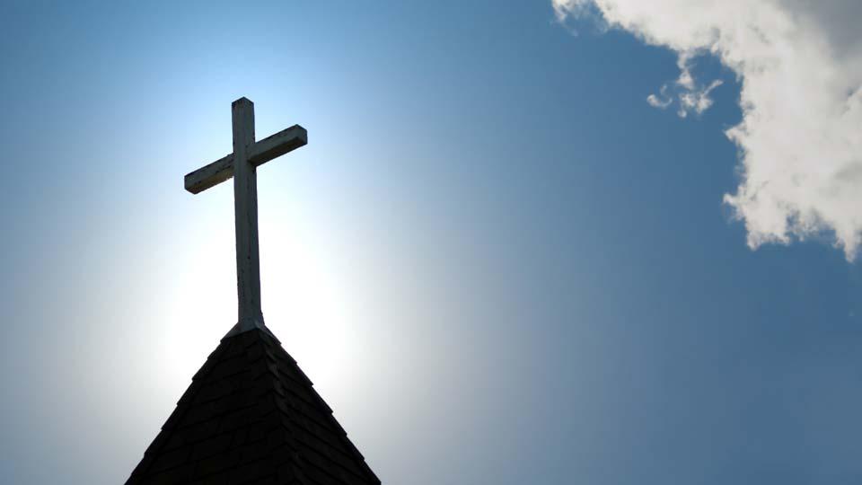 Church, Christian, Cross,