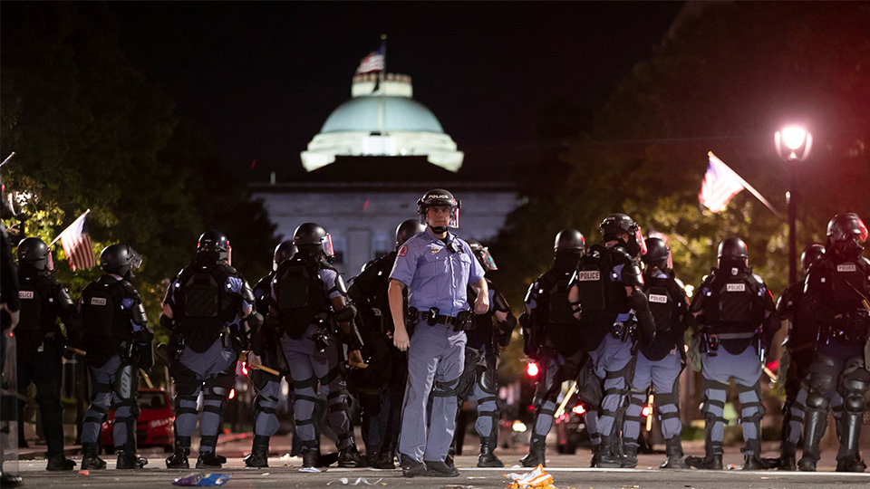 Minneapolis Police Death Protests North Carolina