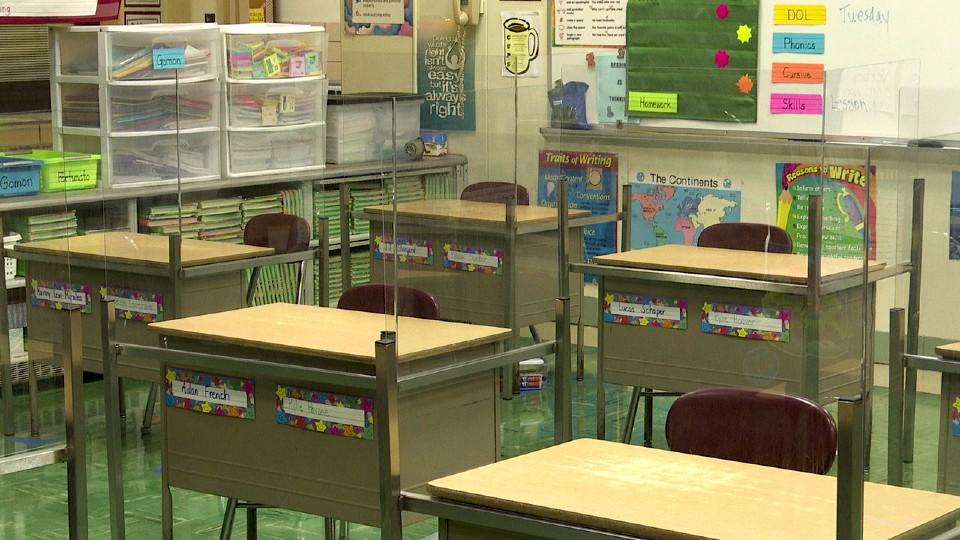 Boardman schools plexiglass