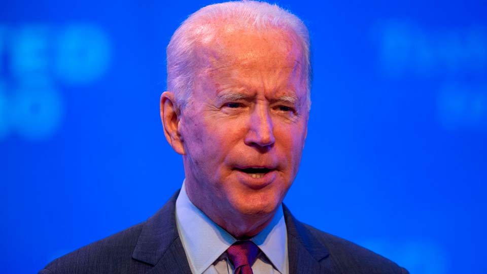 Democratic Presidential Candidate, Joe Biden