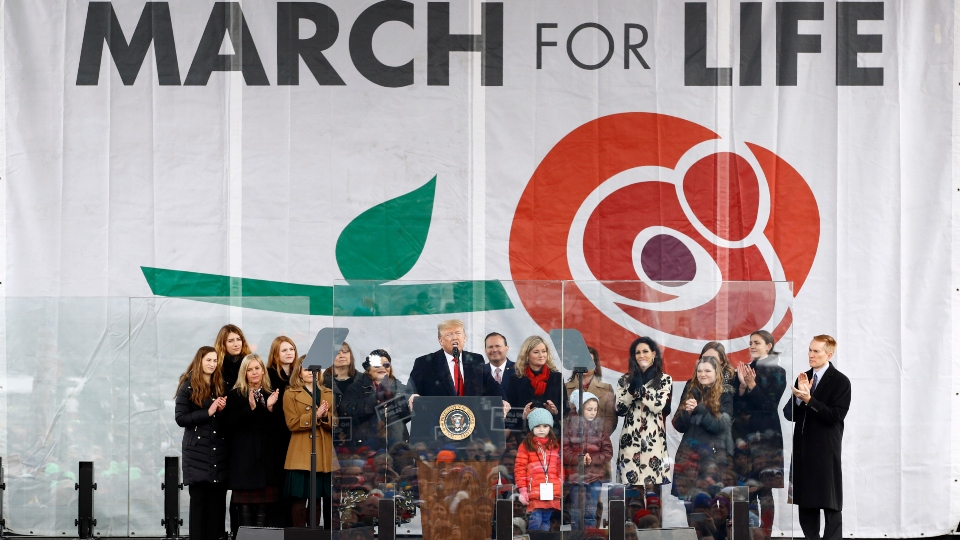 March For Life rally, Washington
