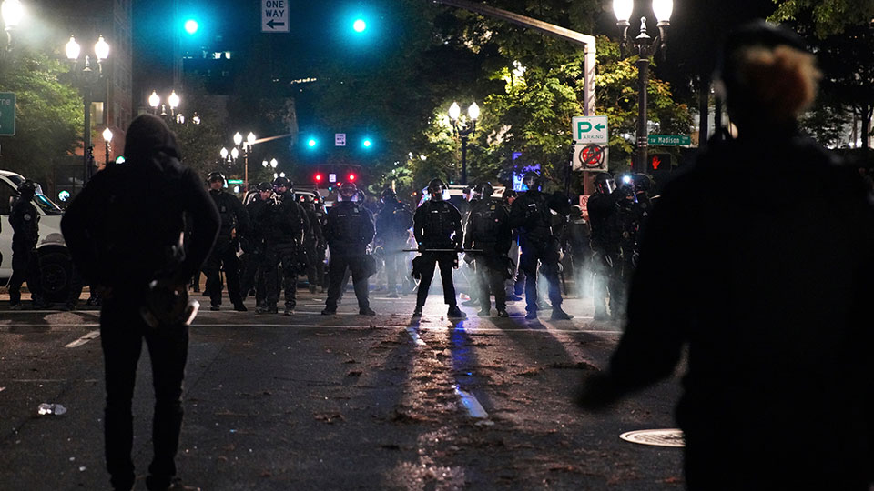 Portland protests police
