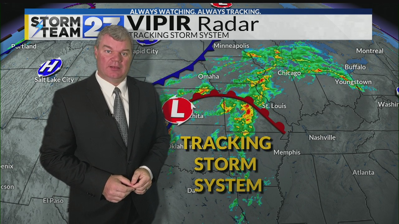 More rain is on the way - What you can expect into your Thanksgiving