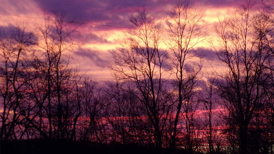 Sunset by Mary, Enon Valley, PA