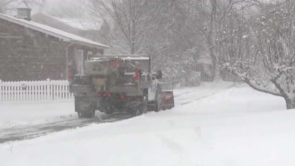 Crews kept up with keeping the roads pretty clear in Mercer County as the first winter storm of the season moved through the area.