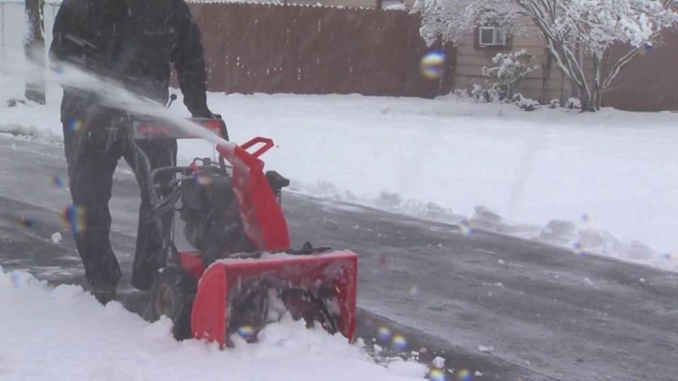 Snow plowing in Cortland