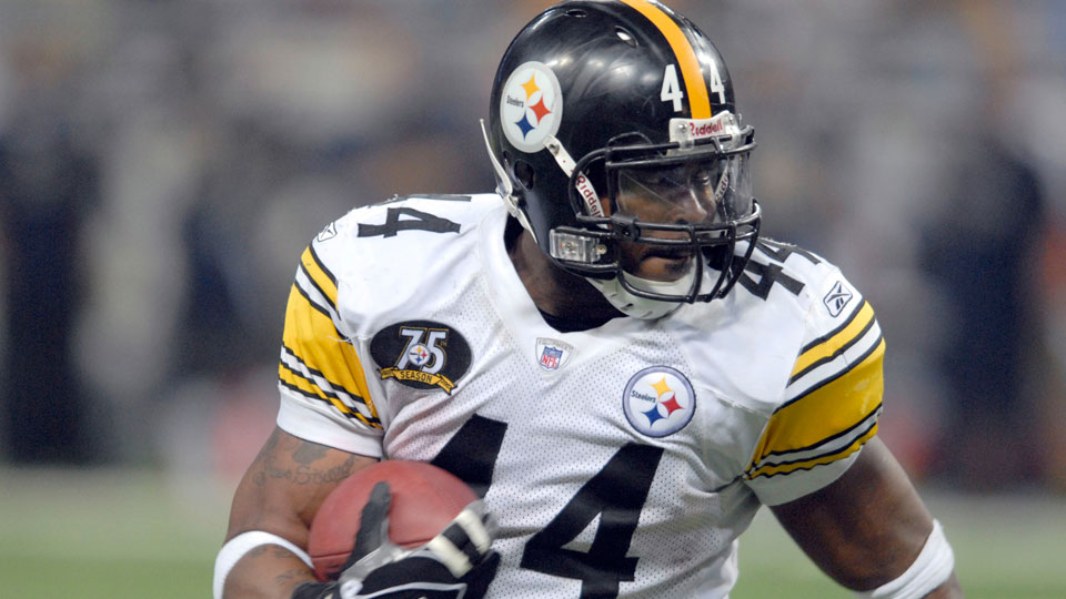 Pittsburgh Steelers running back Najeh Davenport